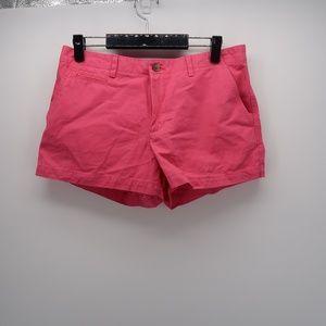 GAP Pink Pockets Flat Front Casual Chino Shorts